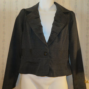 Short polyester blazer by HeartSoul. Sz.L. $15.